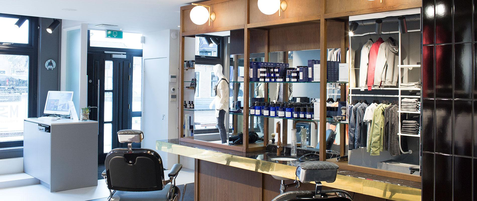 Barbershop & Men's fashion Mannen van den Berg, Grou