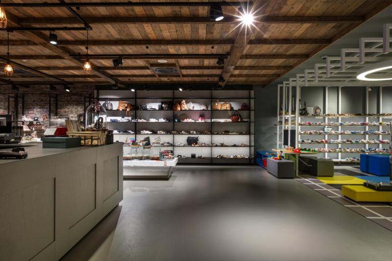 Architecture, interior design and brand identity