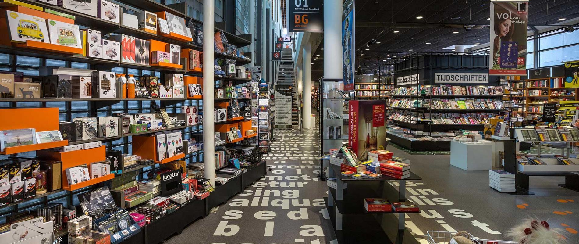 Libris Venstra Amstelveen Binnenbrand Brand Environment Design